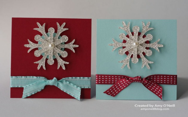 Simple and Sweet Snowflakes
