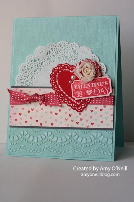 Doily Lacy Valentine