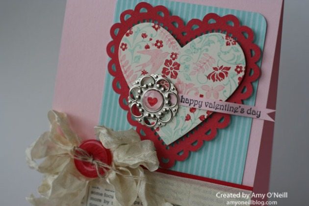 loving valentine close up