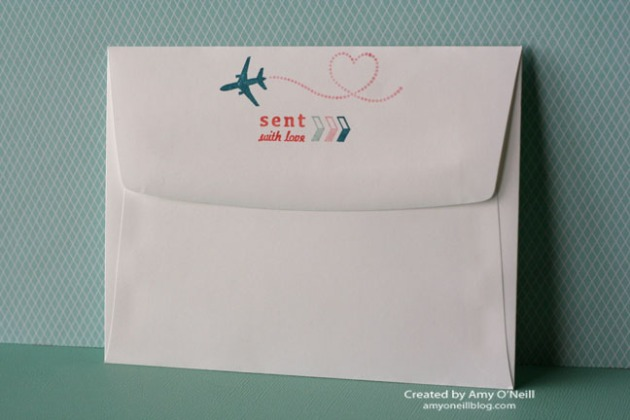 Sent with Love Envelope - Back