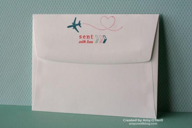 Sent with Love Envelope - Back