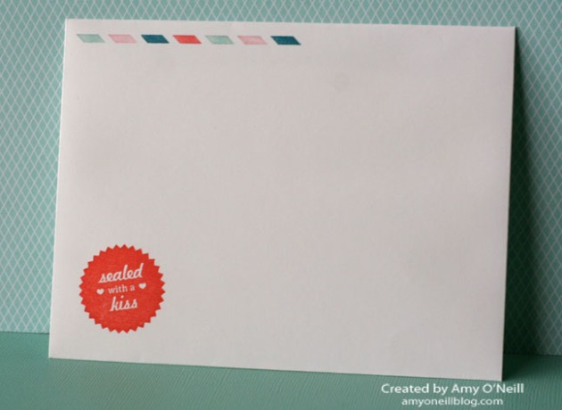 Sent with Love Envelope - Front