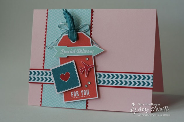 Sent with Love Tag card