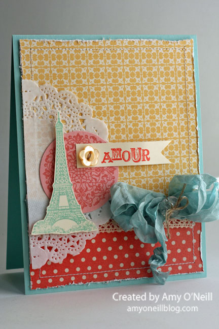A Girly Artistic Etchings Card
