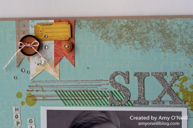 Gorgeous Grunge Display Scrapbook Close Up