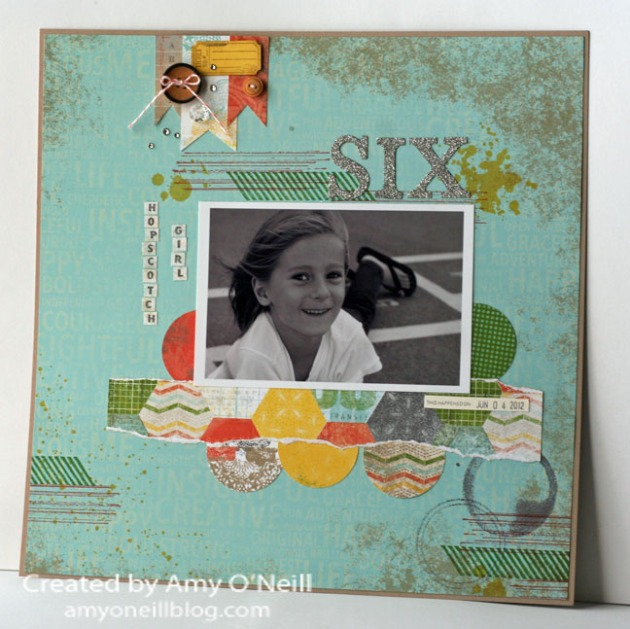 Gorgeous Grunge Display Scrapbook