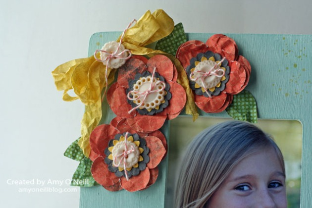 Gorgeous Grunge Display 3d - close up flowers
