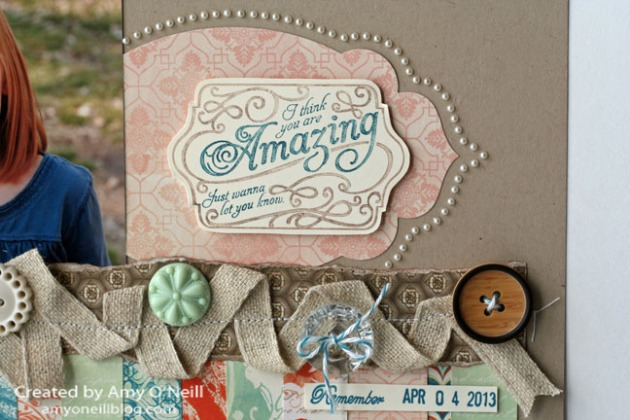 Lovely Romance Scrapbook Close Up 2