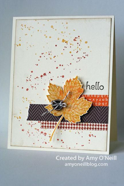 A Fall Hello