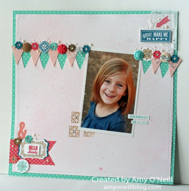 Hello Lovely Display Scrapbook