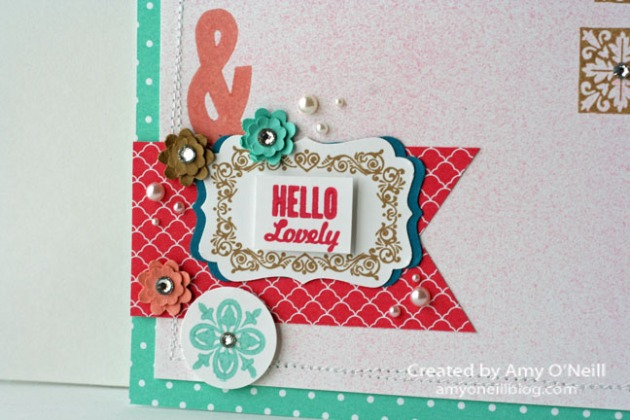 Hello Lovely Scrapbook Close Up 3