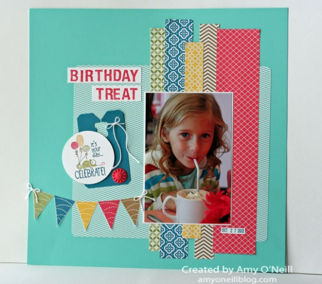Tag It Display Scrapbook