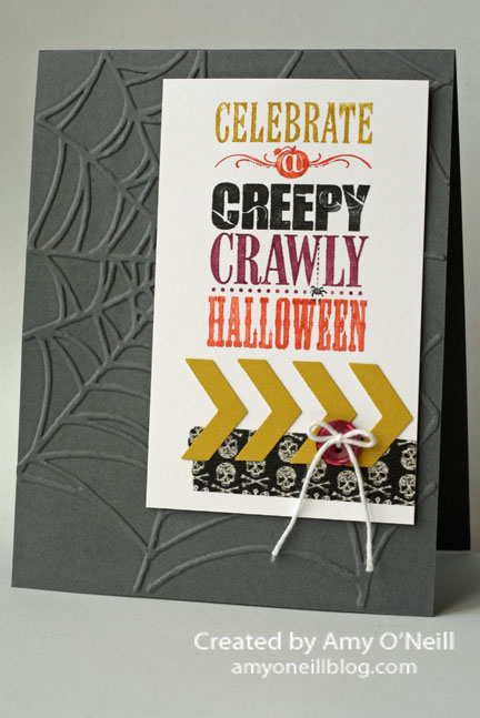 Creepy Crawly Chevrons