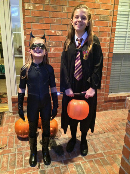 Catwoman and Hogwarts Student