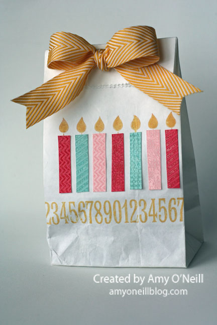 Birthday Candles sack
