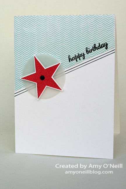 Simple Birthday Star