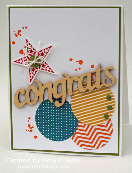 Wood Congrats