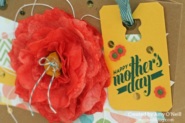 Mother's Day Gift Bag Close Up