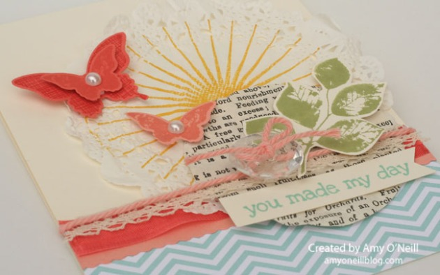 Eclectic Doily Close Up