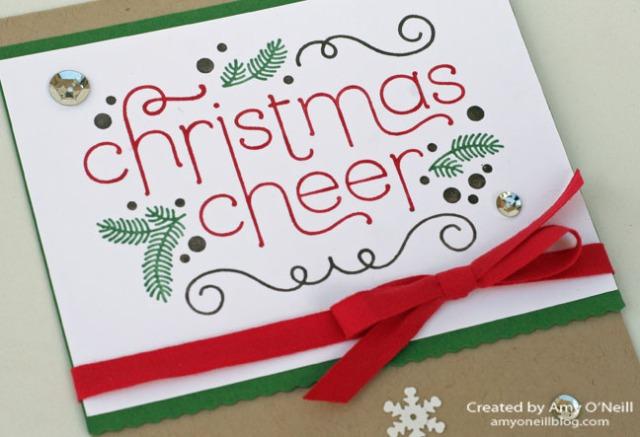 Christmas Cheer Close Up