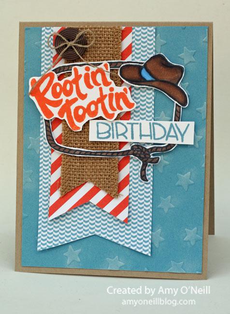 rootin tootin birthday
