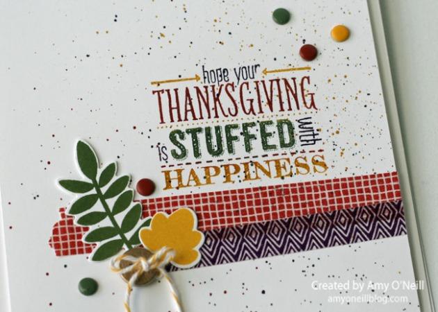 Stuffed Thanksgiving Close up