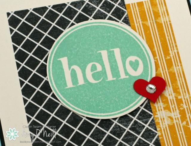 Heart Hello Close up