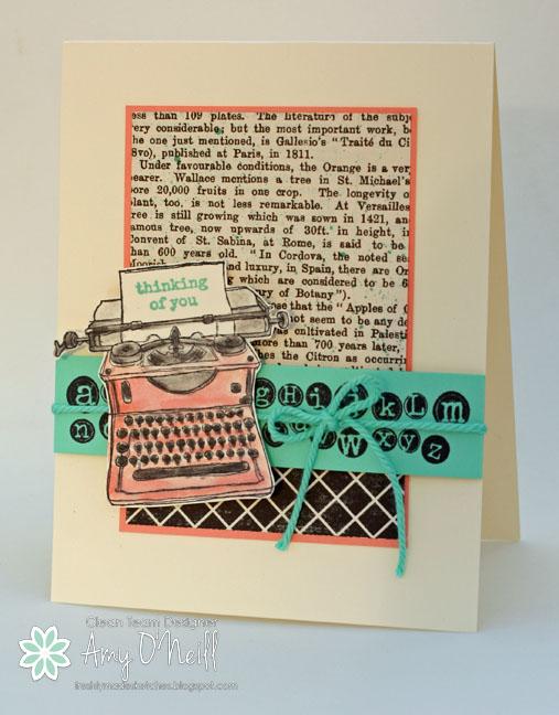 Little Pink Typewriter