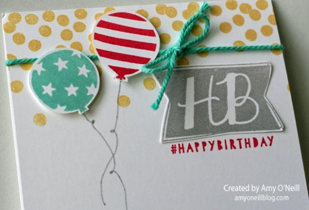 Balloon Bashed Birthday Close Up