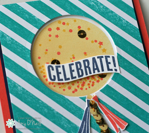 Celebrate Balloon Close Up