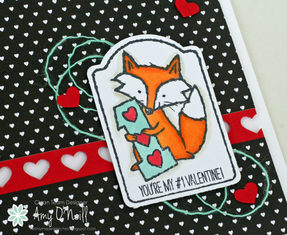 Foxy Valentine Close Up