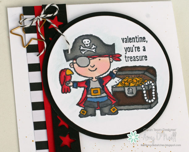 Pirate Valentine Close Up