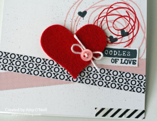 Scribble Heart Close Up