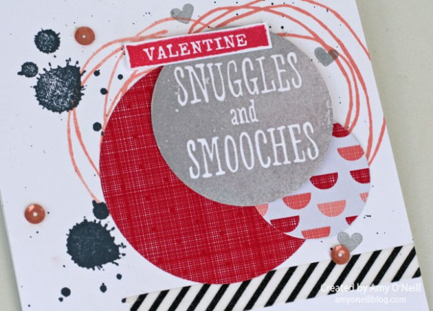 Valentine Snuggles and Smooches Close Up
