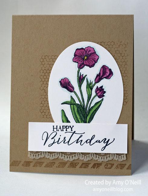 Birthday Lillies