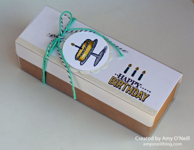 Birthday Tag Box