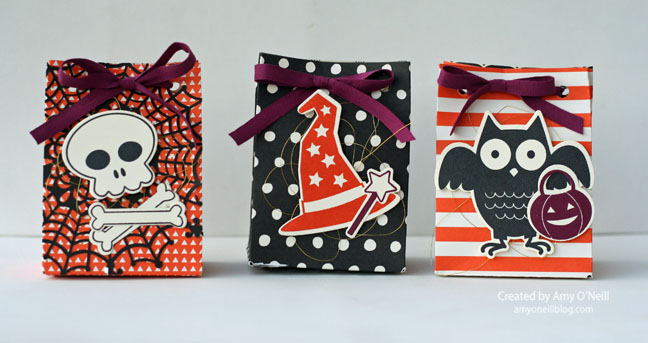 Howl-o-ween Treat Punch Board Bags