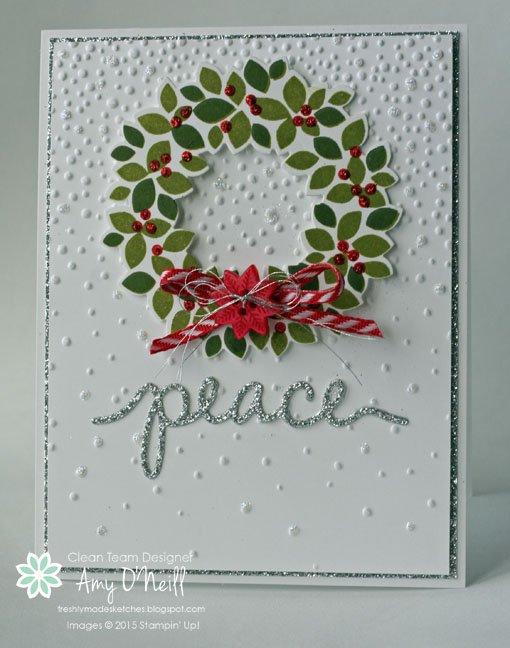 Silver Wreath Peace