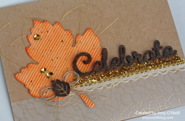 Celebrate Fall Birthday Close Up