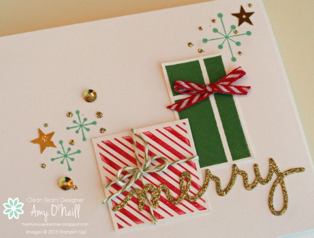 Merry Gifts Close Up