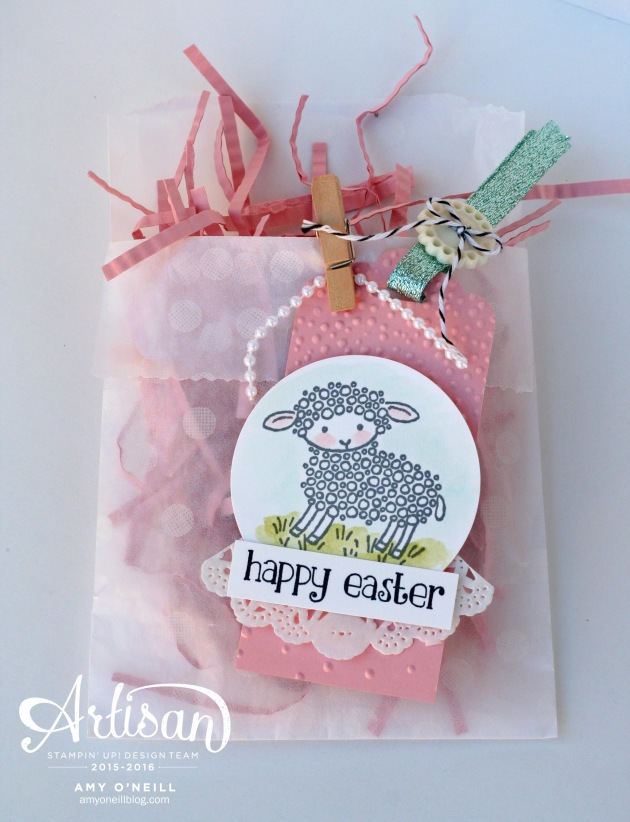 Easter Sheep Gift Bag