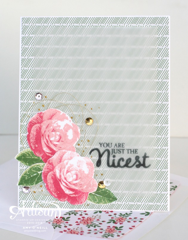 Love Blossoms Card