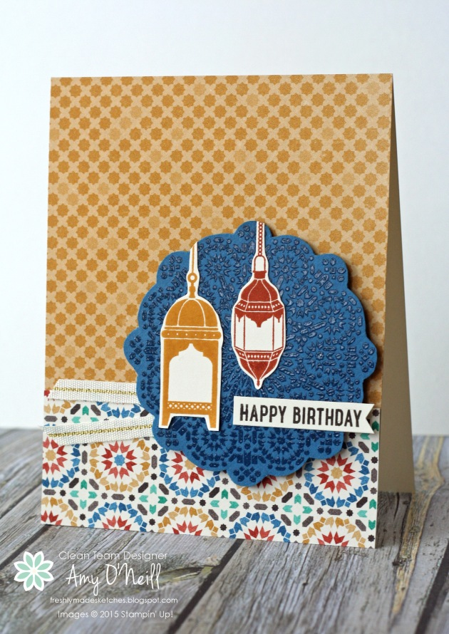Happy Birthday Moroccan Lights