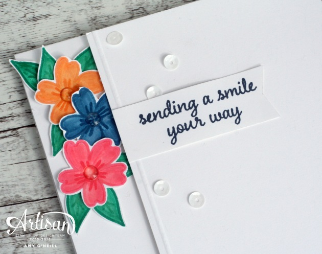 Sending a Smile Close Up