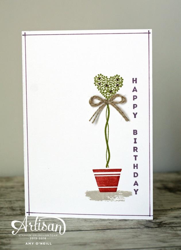 Topiaries Happy Birthday