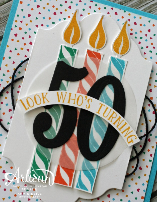 50th Birthday Close Up