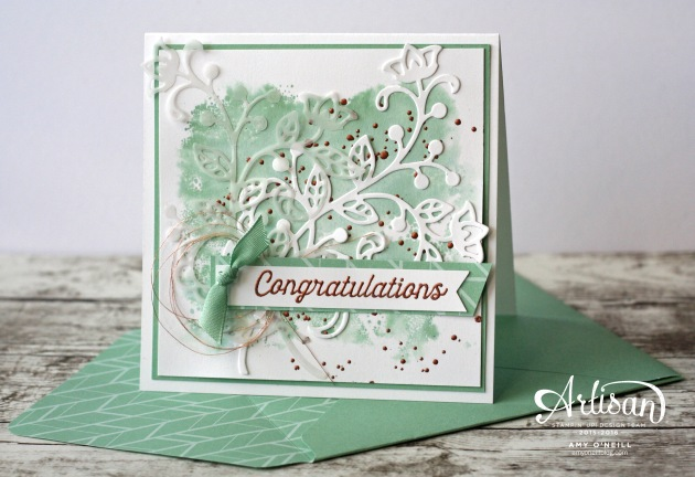 August Flourishes Card