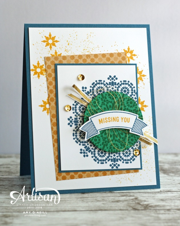 Moroccan Banners Card