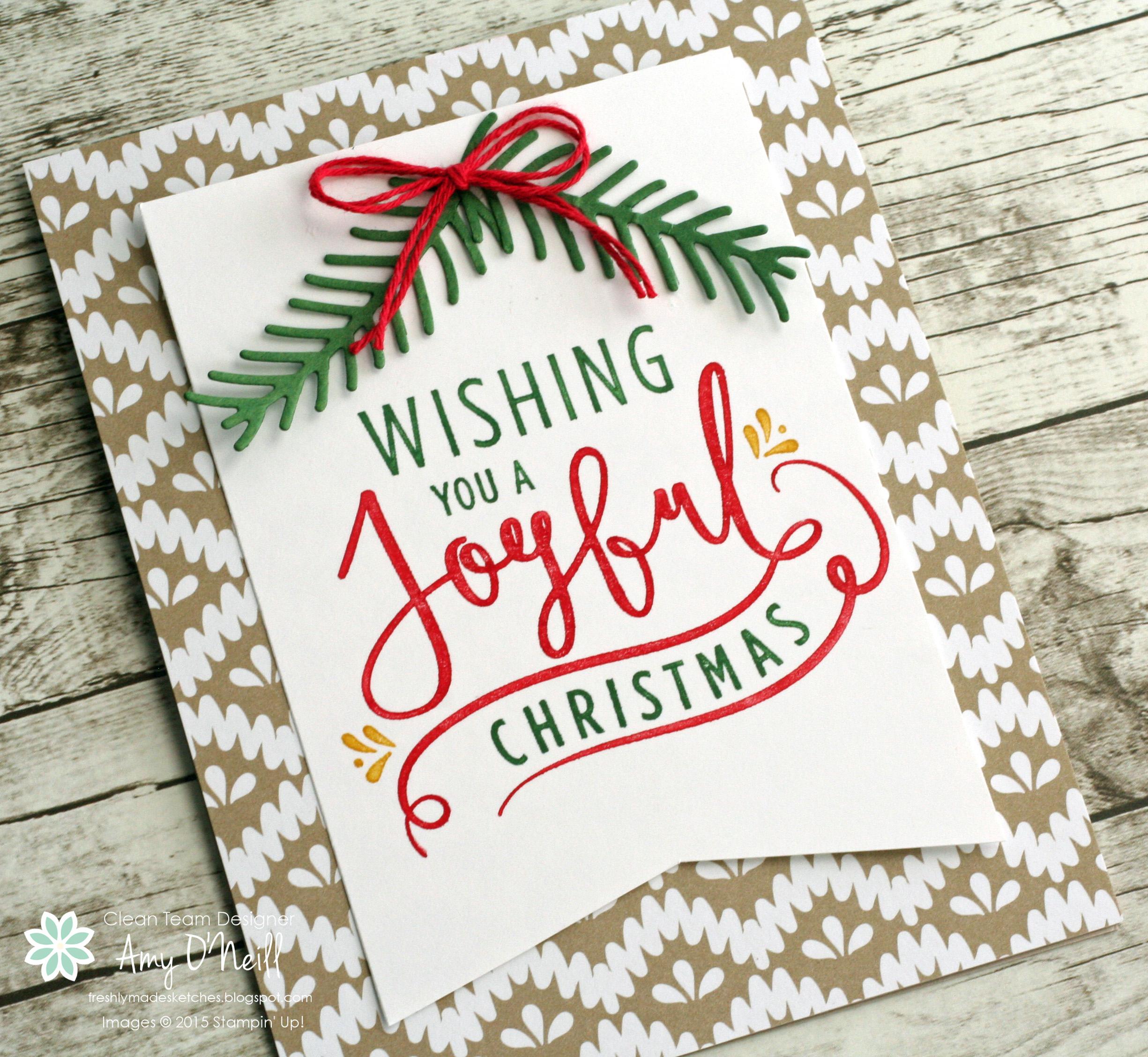 Joyful Christmas — FMS256 |